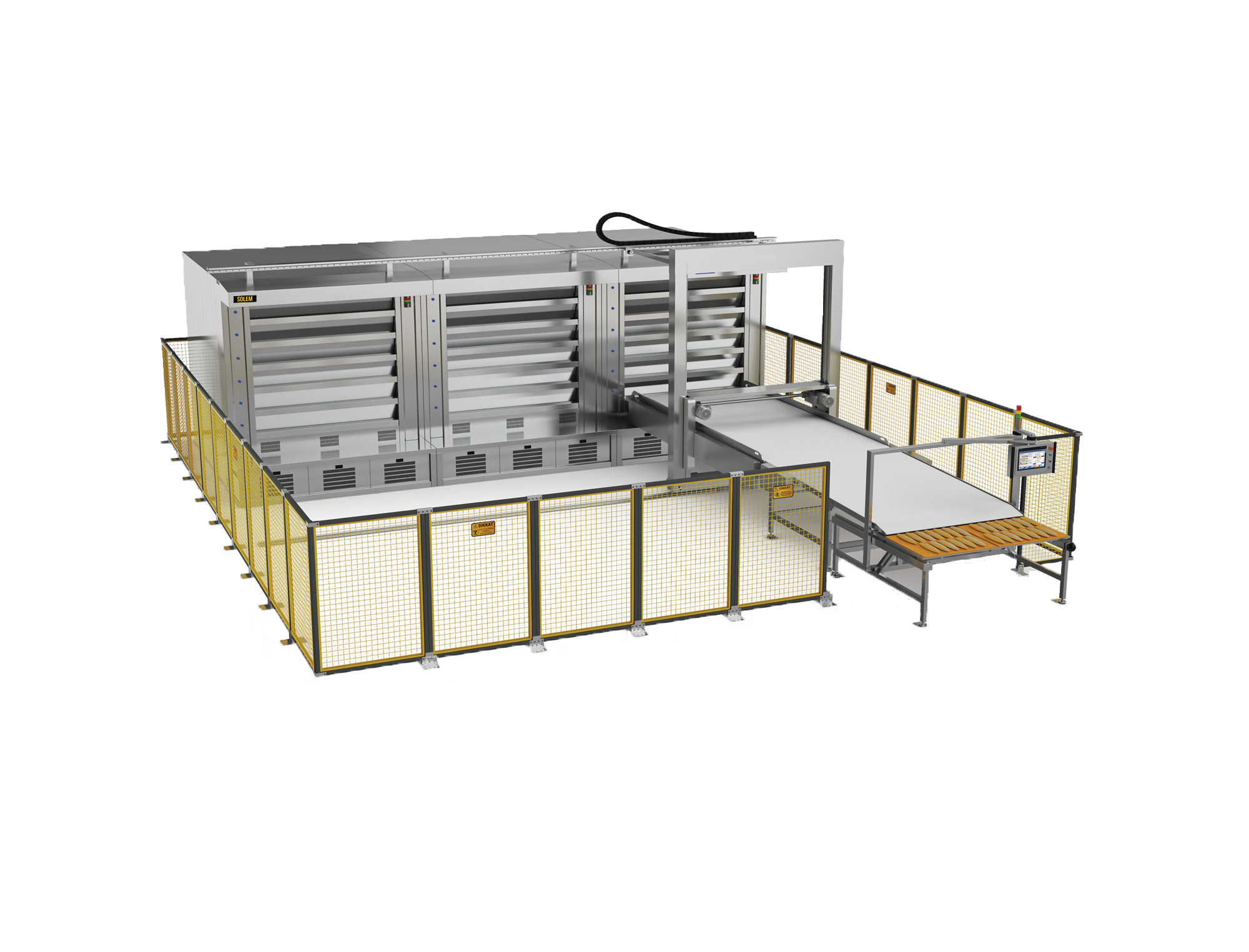 STEAM TUBE OVEN (AUTOMATIC LOADING UNIT)